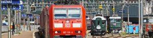 ドイツの鉄道の様子
